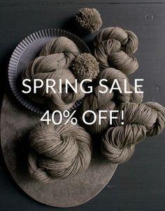 Purl Soho Big Spring Sale!