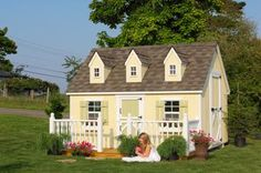 Little Cottage Co.   4x6 Cape Cod Playhouse