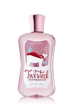 Bath & Body Works Holiday Traditions 2012 Twisted Peppermint Shower Gel 10 oz Full Size by Bath & Body Works. $9.69. Key Fragrance Notes: Sweet Peppermint, White Sugar, Vanilla. Limited edition seasonal item for 2012. Our exclusive Twisted Peppermint is a tempting blend of cool, refreshing mint, white sugar, and just a hint of rich vanilla. Super moisturizing shower gel, NOT SHEA ENRICHED. Brand new in original, factory sealed packaging. Enjoy softer, cleaner skin ... Body Cleanser, Body Lotions, Holiday Traditions, Body Spray, Smell Good, Shower Gel, Bath And Body Works, Body Wash, Peppermint
