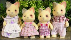 Beverly's Sylvanian Village - Families - Cats - Calico Cats