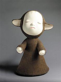 THE LITTLE PILGRIMS (NIGHT WALKING) By Yoshitomo Nara ,1999