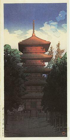 「池上本門寺の塔」