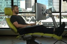 The Holy Grail of Workstations Moves Your Computer with Your Body — Design News