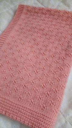 Eve's Blanket Knitting pattern by Auroraknit Baby Knitting Patterns, Free Baby Blanket Patterns, Knitting Stitches, Baby Patterns, Free Knitting, Crochet Patterns, Simple Knitting, Easy Knit Baby Blanket, Knitted Baby Blankets