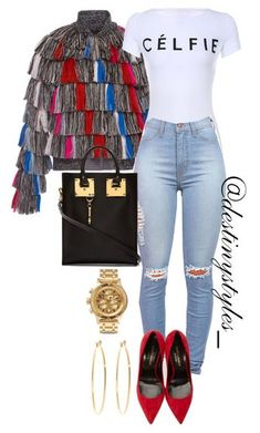 Untitled #129 by iamdestinnny on Polyvore featuring polyvore Marco de Vincenzo Yves Saint Laurent Sophie Hulme Nixon Brooks Brothers