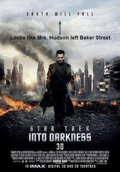 """""""Looks like Mrs. Hudson left Baker Street."""" haha oh my goodness!!"""