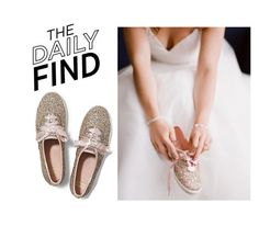 """""""Daily Find: Keds X Kate Spade Sneakers"""" by polyvore-editorial ❤ liked on Polyvore featuring Keds and DailyFind"""