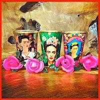 #FridaKahlo #treasurewanna haves♥ #votive #candles