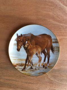 Safe And Sound Modern Masters 9 1/4 Inch Horse Themed Collector Plate    eBay