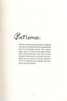 Ruth gendler book of qualities examples