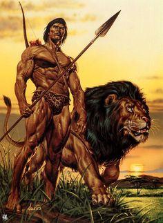 Tarzan...and THIS is a Tarzan body.