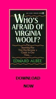 Who S Afraid Of Virginia Woolf Edward Albee Audio Books Virginia Woolf