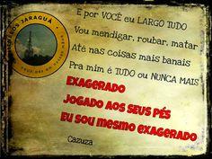 Jogado aos seus pés - www.facebook.com/chinelosjaragua