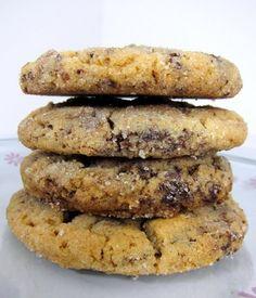 Peanut Butter Brookies - half pb cookie/half brownie
