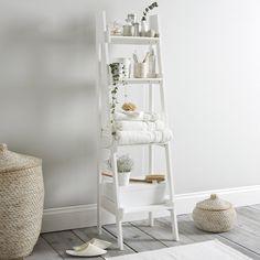 Superbe Bathroom Ladder Shelf | The White Company