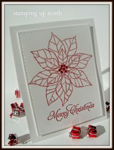stamping up north: Merry Monday challenge