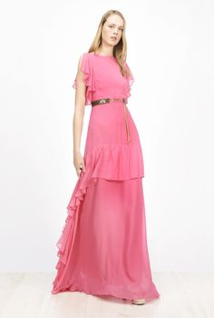 SS17-spring-summer-2017-fashion-blog-bogger-blogueuse-belge-trends-pink-party-italian-brand-pinko-maxi-dress