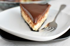Chocolate Mousse Cheesecake Pie via @melskitchencafe