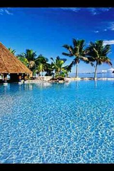 An exotic tropical island wallpaper