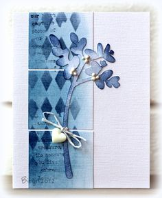 By Birgit. I like the way the background works with the die cut.