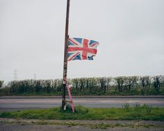The Union Jack is a combination of the English, Scottish and Northern Irish national flags.  Read more: Photos of England's Weird Border With Scotland - LightBox http://lightbox.time.com/2014/09/17/scotland-referendum-england-border-photographs/#ixzz3Djfdve4Z