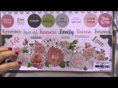 Cottage Rose Collection - Kaisercraft - CHA Winter 2016 Video
