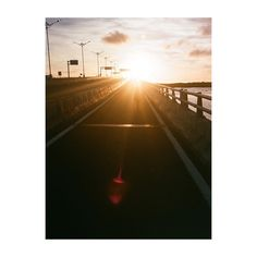 Beautiful sunset session on the way home! photo by @choqysatria film photography , 35mm , sunset , bali, grain