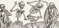 Dança macabra, por Michael Wolgemut (1493) (Foto: wikimedia commons - reprodução hakai magazine)