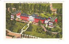 Sullins College  Bristol Virginia Vintage Postcard by PicturesFromThePast