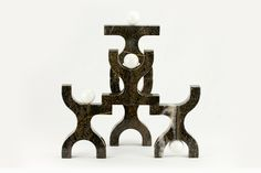 Pu-Pazzi, Five Sculptures / Unicodesign by Stefano Palcani