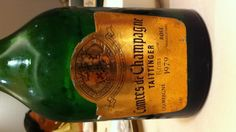 Old champagne! Sweet!