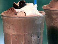 Chocolate Malted Milkshake from FoodNetwork.com