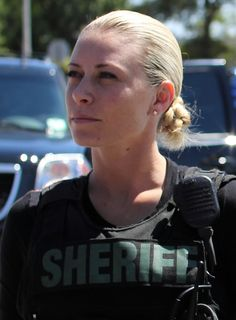 Police Women of Broward County. This officer is badass. She puts a lot of dudes to shame. She's fucking gorg