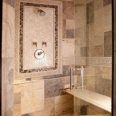 Historic Schoolhouse Loft - traditional - bathroom - chicago - Lisa Wolfe Design, Ltd