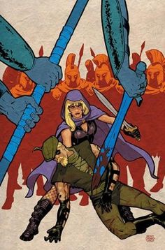 Black Canary and Green Arrow by Cliff Chiang