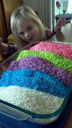 Colorful Rice : Macaroni Kid