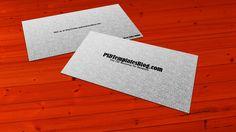 100  Free Business Card Mockup PSD