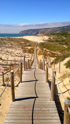 Beach Praia do Guincho, heaven half an hour from #Lisbon - Portugal