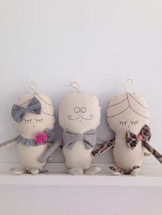 Dollie via Suussies. Unique handmade dolls of unforgettable character xx