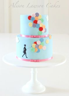 Beautiful Baby Shower cake by Alison Lawson.