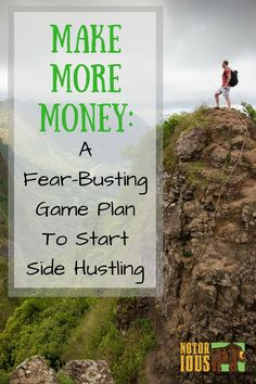 Are you happy with how much money you have? If you're not making enough to make ends meet with your day job alone (or you just want to get ahead), then you need to start side hustling. It's not as scary as it sounds - here's how I got over my fear to start side hustling!