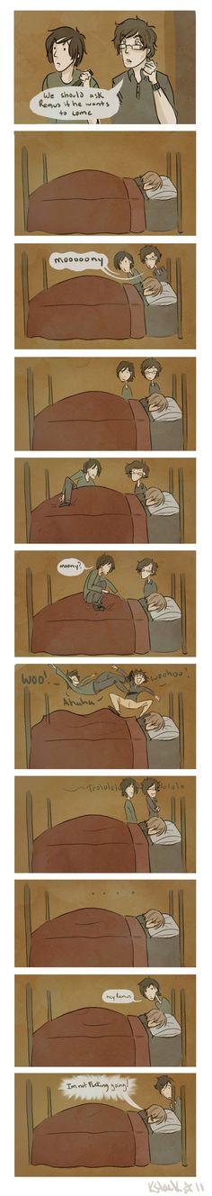 Hey Remus ... WAKE UP by Avender.deviantart.com on @deviantART