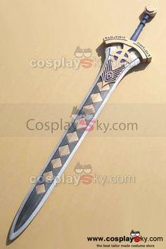 Fate/Prototype-Saber-Excalibur-Sword-Cosplay-Prop-3