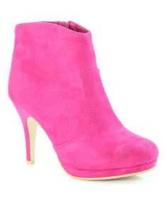 Take a look at the Fuchsia Vero Bootie on #zulily today!