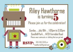 Plan  the perfect party invitation for their child's party?