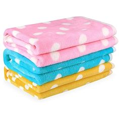 Pet Dog Blanket - Cat Puppy Blanket Soft Warm Sleep Mat - for Couch,Car, Bed - Dog Cat and Other Small Animals - 3 Pack -- Nice of your presence to have dropped by to see our image. (This is our affiliate link) Polar Fleece Blankets, Soft Blankets, Pet Dogs, Dogs And Puppies, Baby Girl Dolls, Dog Blanket, Dog Carrier, Love Pet, Small Animals