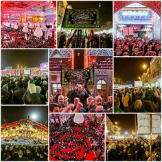 Processions in Imam Hussein Holy Shrine   #5thMuharram1437