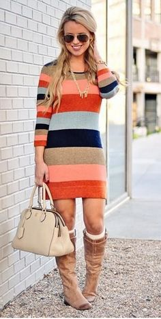 Beautiful sweater dress from anthropologie Material Girls, Cute Fashion, Fashion Outfits, Womens Fashion, Fall Outfits, Cute Outfits, Mommy Style, Pullover, Playing Dress Up