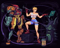 Metroid Samus, Samus Aran, Game Character Design, Character Art, Alita Battle Angel Manga, Spaceship Art, Futuristic Art, Adventure Time Anime, Manga Games