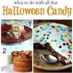 Using up Halloween Candy!